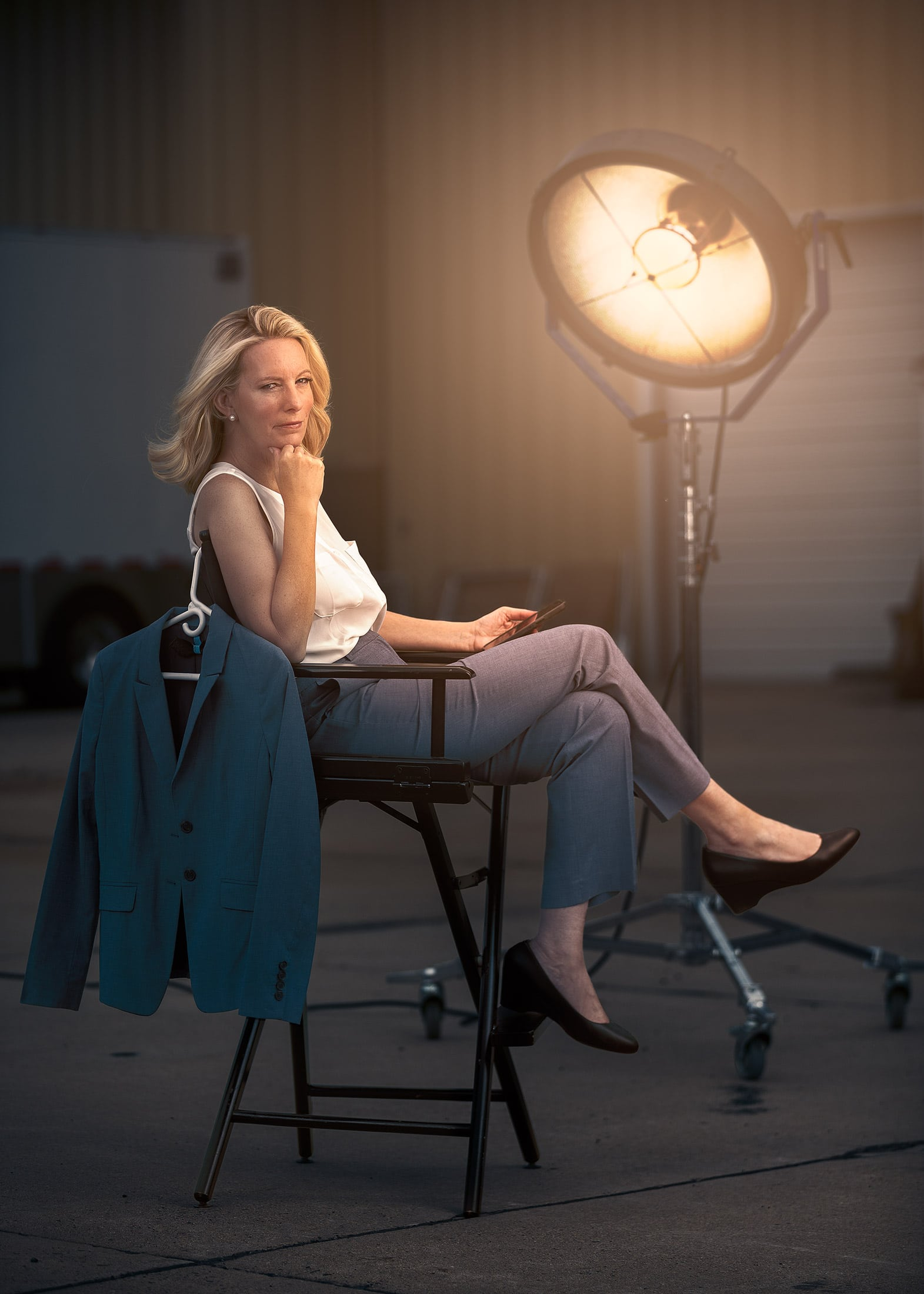 Portrait Photography Of Denver Lawyer In Hollywood Style