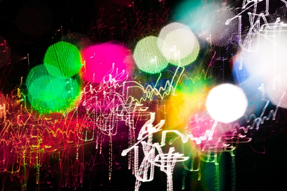 Denver abstract fine art photography with light